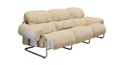Guido Faleschini for Pace Collection Tucroma sofa, 1970s, offered by Anthology
