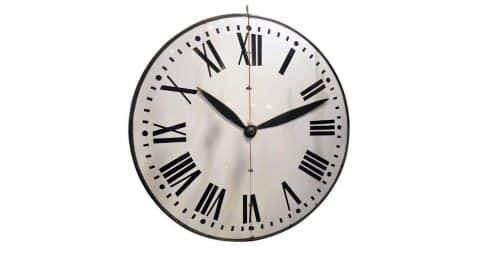 Shop Industrial Wall Clocks
