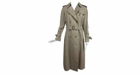 Burberry trench coat, offered by Palm Beach Vintage