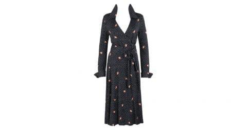 Diane von Furstenberg Wrap dress, offered by E-Collectique Luxury Resale