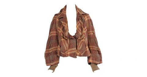 Vivienne Westwood Anglomania plaid jacket, offered by Katy Kane
