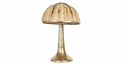 Gabriella Crespi Fungo table lamp, 1974, offered by Maison Gerard