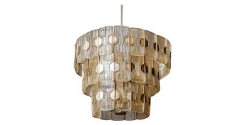 Barovier&Toso for Venini chandelier, 1940s, offered by 46Kloosterstraat