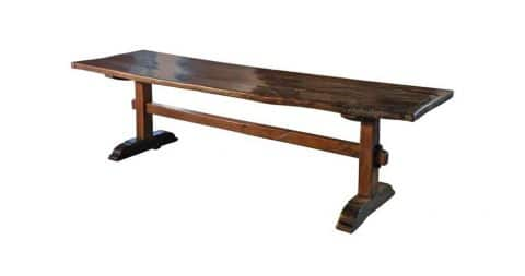Southern French trestle table, late 17th century, offered by the Fortress