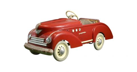 MFA France Peugeot 203 pedal car, 1953, offered by Retro Station