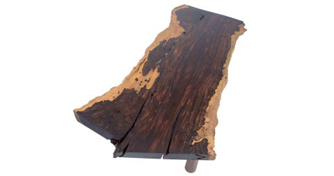 Ania Wolowska slab coffee table, 2016, offered by ITZ