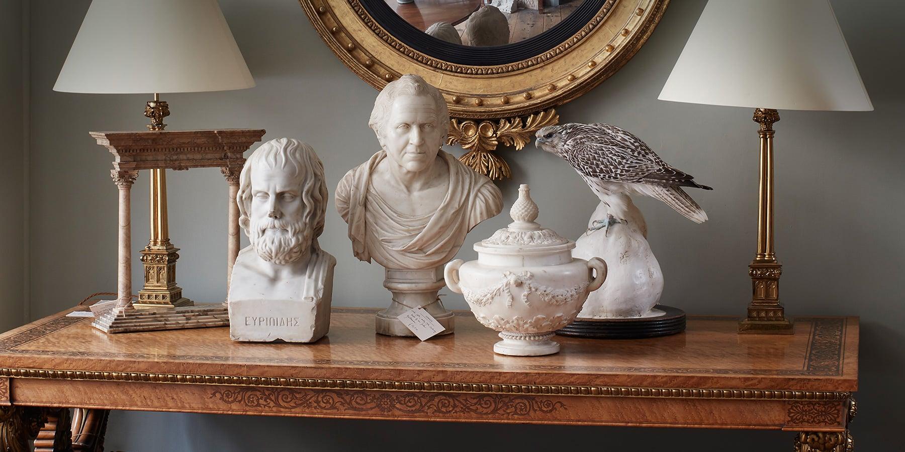 Antique busts