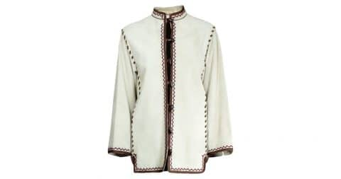 Yves Saint Laurent jacket, Fall/Winter 1976–77, offered by Chantal Quiquine