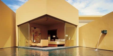master bedroom on pool by Paul Wiseman