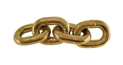 Carl Aubock paperweight chain, 2000, offered by Modern Living Supplies