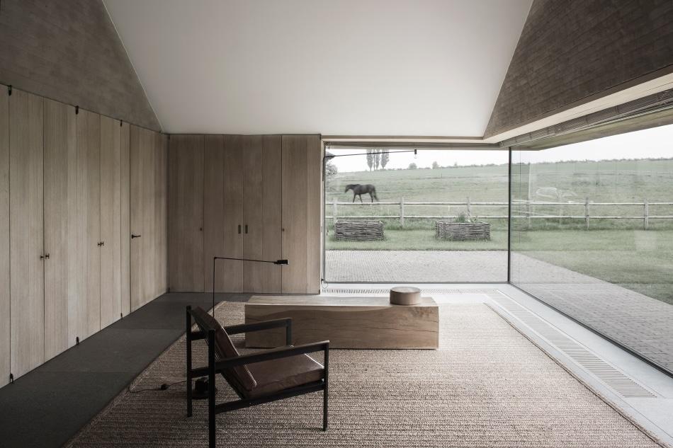 Belgian designer Vincent Van Duysen Zwevegem Belgium house