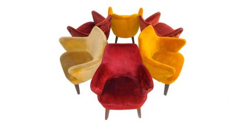 Giò Ponti for Cassina lounge chairs, 1950, offered by BG Galleries