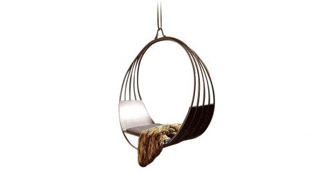 Erin Martin Aux Deux hanging swing chair, new, offered by Martin