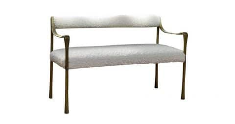 DLV Giac settee, new, offered by DLV