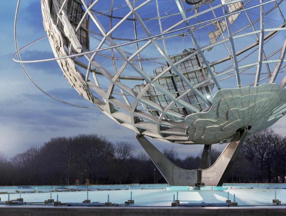 "Jade Doskow, New York 1964 World's Fair, ""Peace Through Understanding,"" Unisphere, 2009"