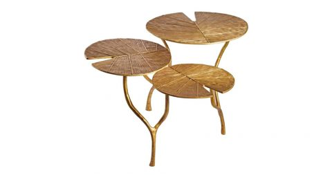 Franck Evennou Lotus tables, new