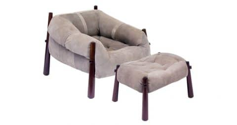 Percival Lafer Brazilian MP-81 armchair, ca. 1960, offered by Teo