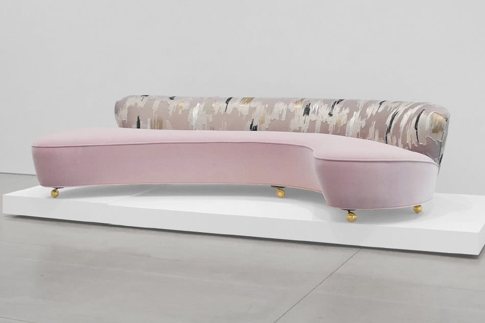 Vladimir Kagan Serpentine sofa 1950