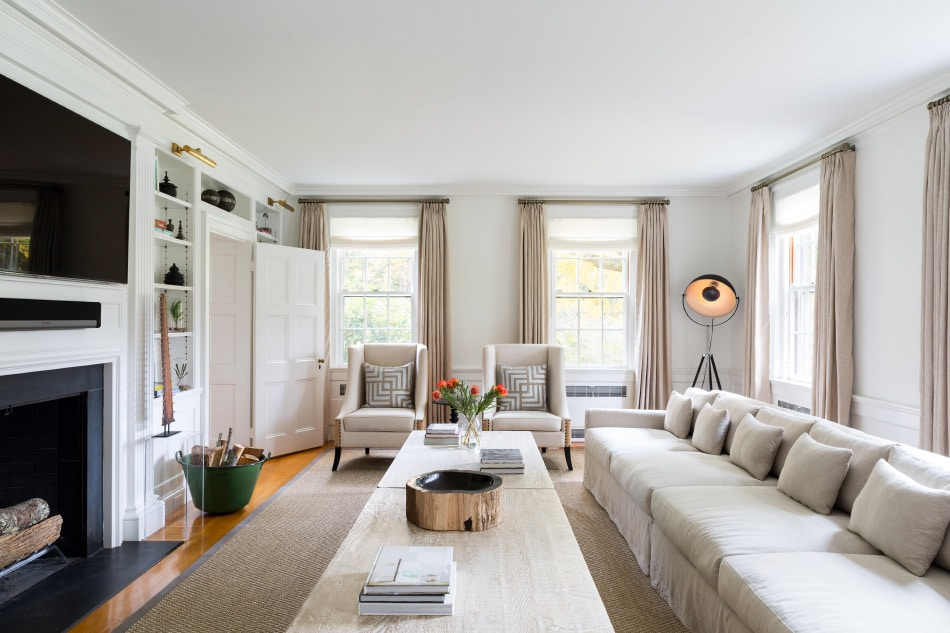 Litchfield living room by Chango & Co.