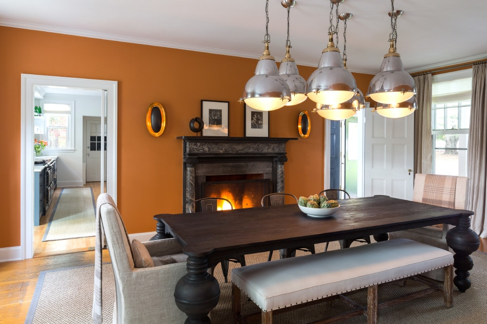 Litchfield dining room by Chango & Co.