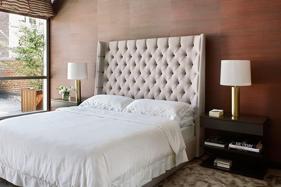 A bedroom designed by Magdalena Keck