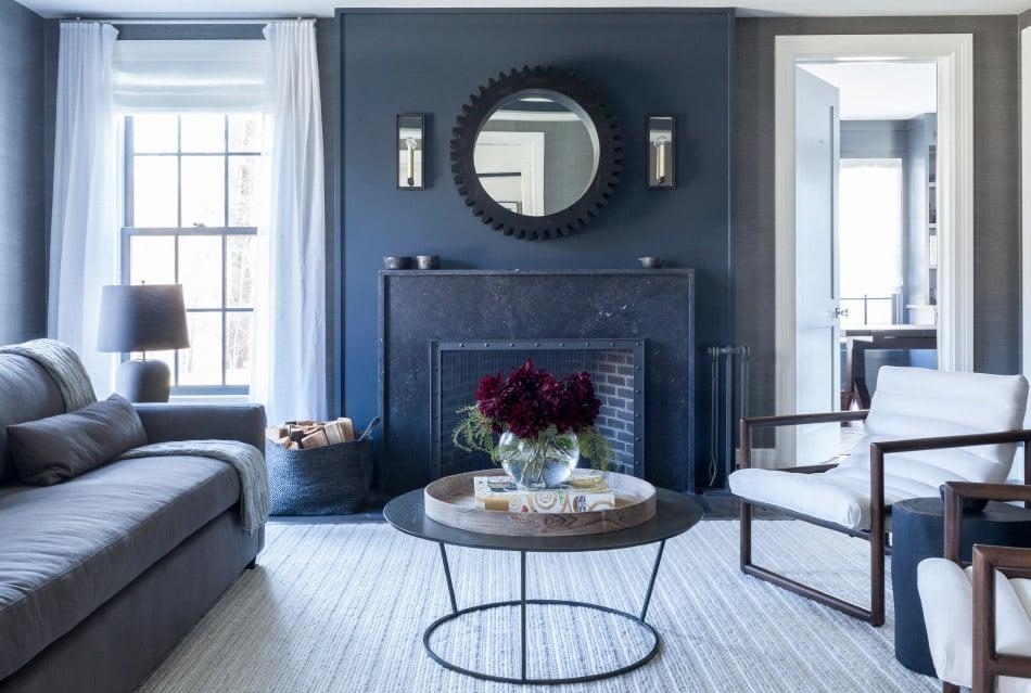 Westport living room by Chango & Co.