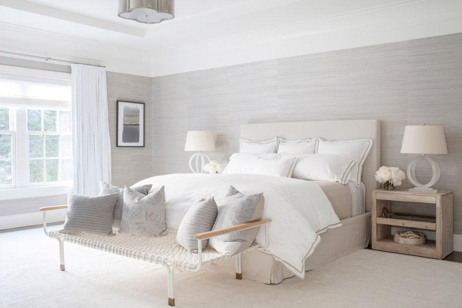Westport master bedroom by Chango & Co.