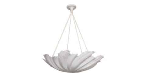 WP Sullivan shell chandelier, new, offered by Liz O'Brien