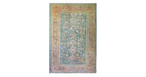 Oushak carpet, late 19th century, offered by Eli Peer Oriental Rugs