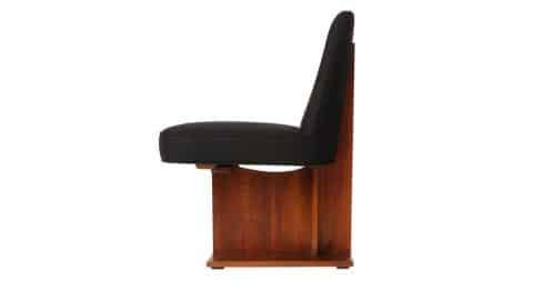 Vladimir Kagan Pedestal chair, 1960s, offered by Wyeth