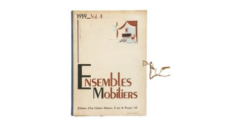 Ensembles Mobiliers Volume 4, 1939, offered by Kelly Gallery