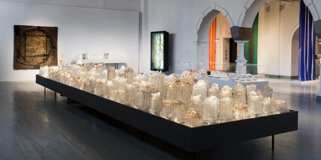 Timo Sarpaneva display at Design Museum Helsinki