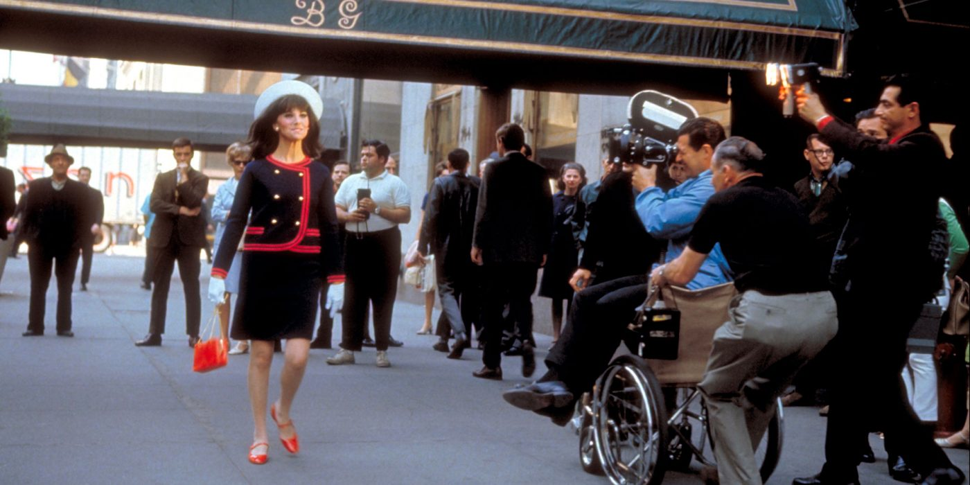 Marlo Thomas during a taping of That Girl
