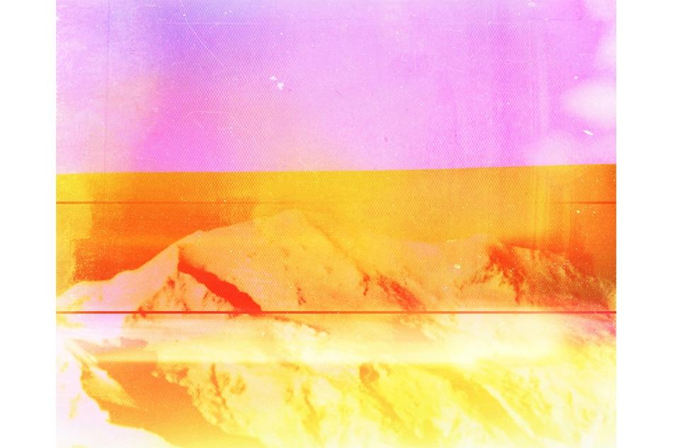 Adams with Grunge IntensePeach pop SplitScreen and LightLeak Camera App Filters (IMG_6468), 2014, byPenelope Umbrico