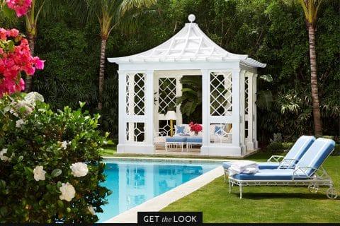 pool pavilion by Kemble Interiors