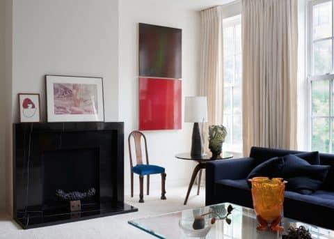 Living room by Charlap Hyman & Herrero