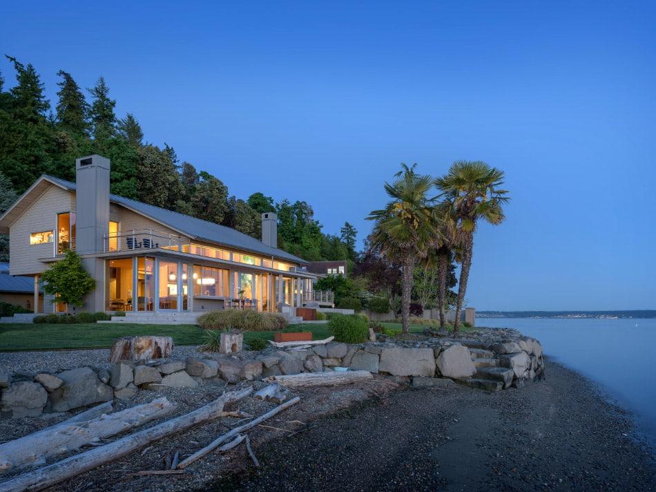 Fox Island beach house