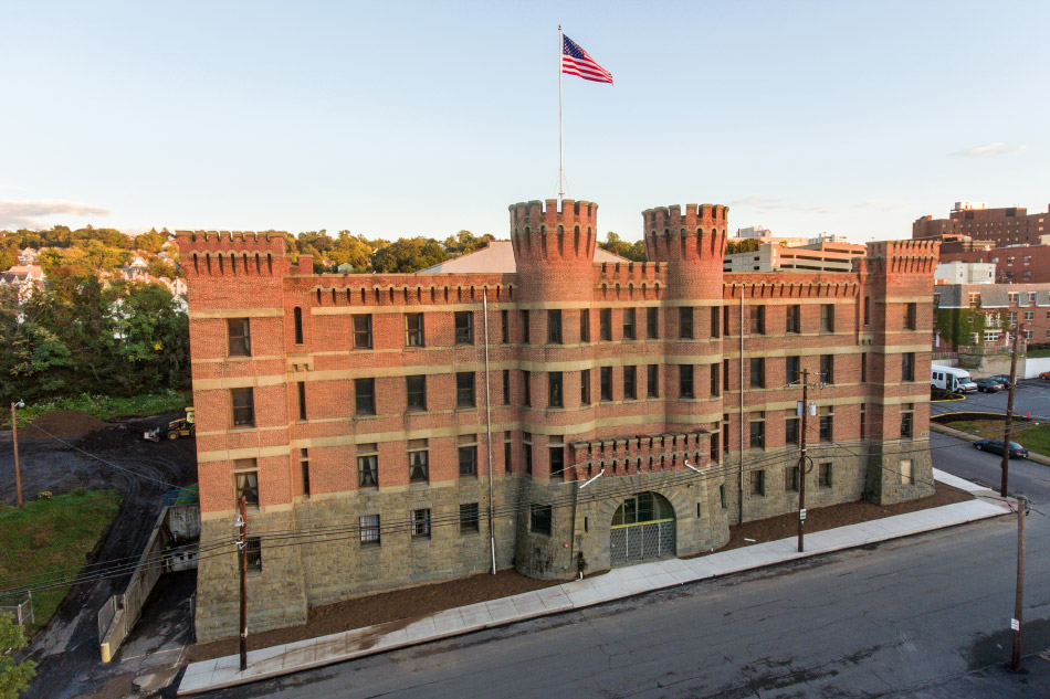 Hunt Slonem's Scranton, Pennsylvannia castle