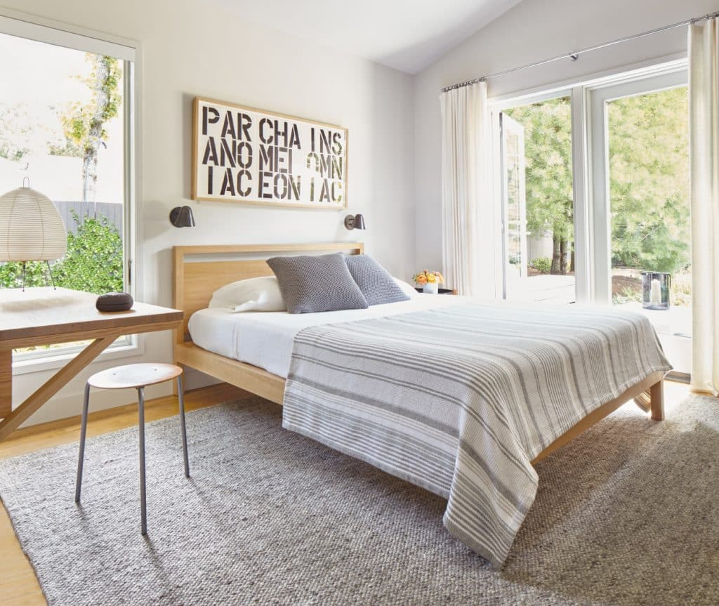 East Hampton bedroom by Russell Groves