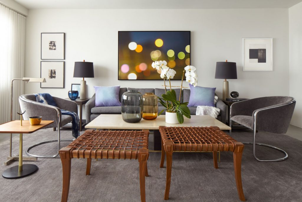 Manhattan living room by Russell Groves