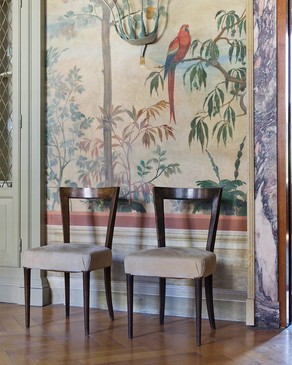 Piero Portaluppi Designed This Sumptuous House Next to Leonardo da Vinci's Vineyard