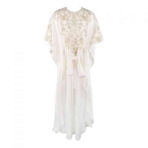 Oscar de la Renta silk caftan, 21st century, offered by Sui Generis Consignment