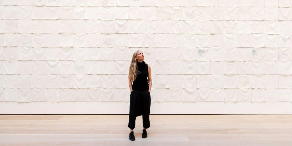 Liza Lou in gallery