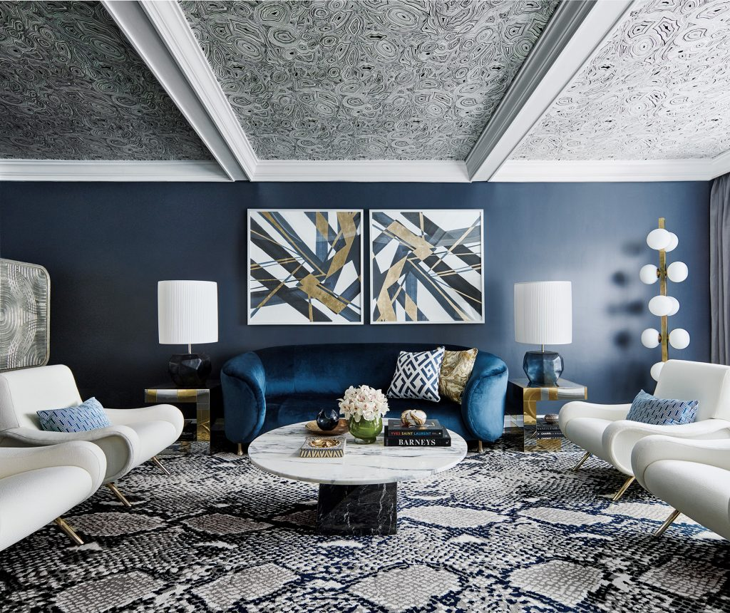 In Natale.Greg Natale Has A Knack For Using Pattern 1stdibs