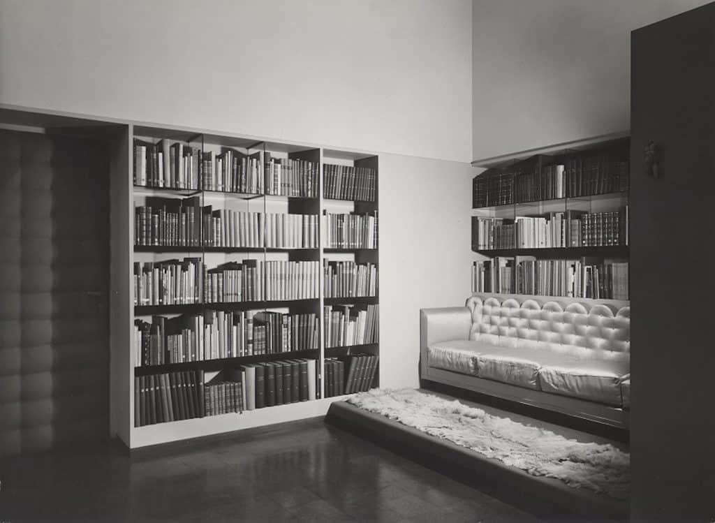 Piero Portaluppi Studio Milan sofa