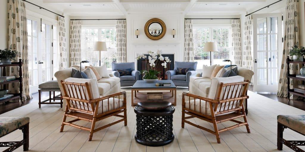 John B. Murray Victoria Hagen East Hampton living room