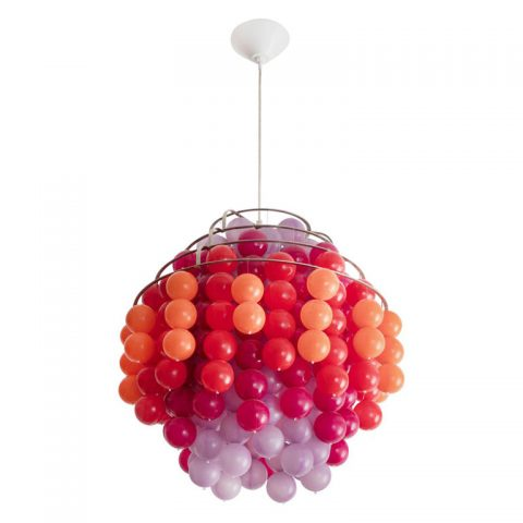 Fun chandelier, 1970, offered by R& Company