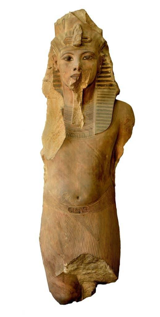 King Tut quartzite statue