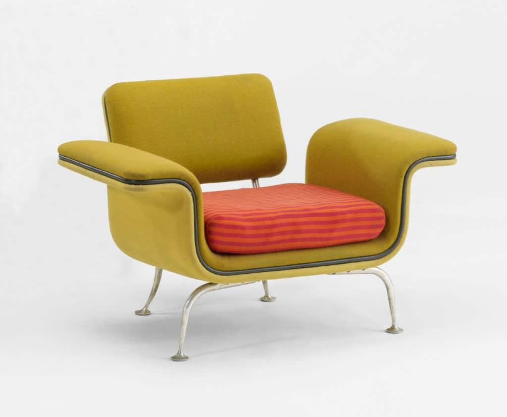 Alexander Girard, armchair for Braniff International vip lounge, c. 1965