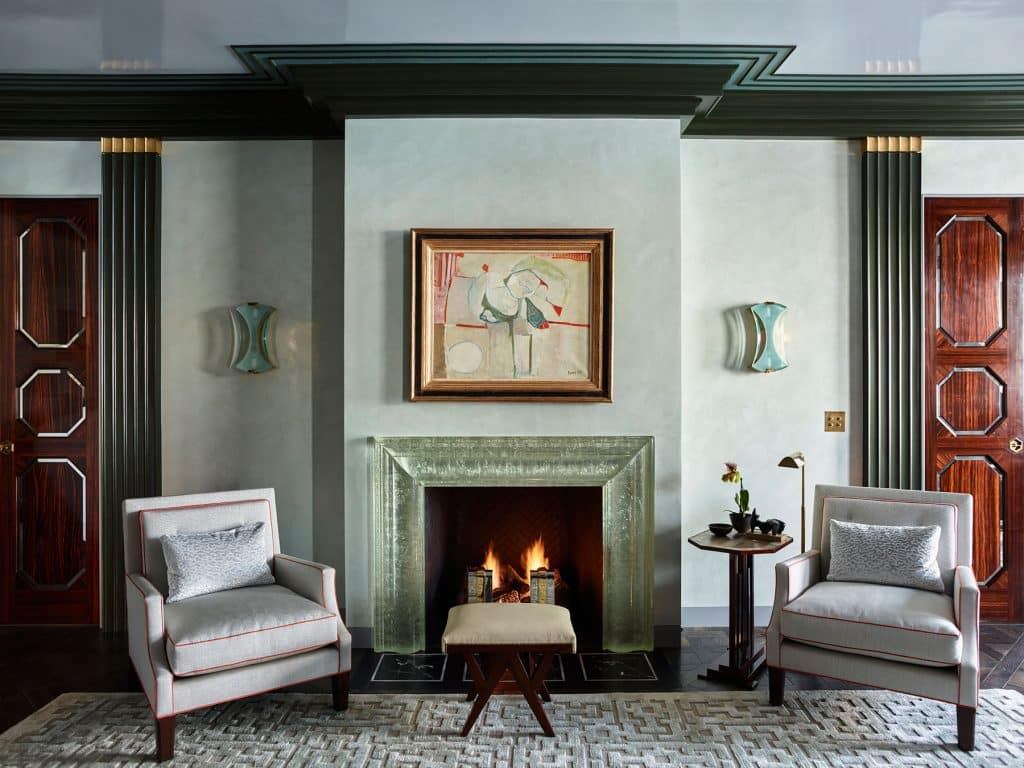 Chicago living room by Steven Gambrel